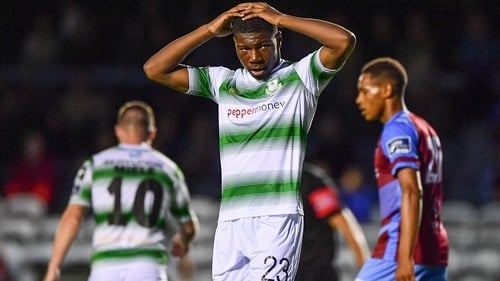 Sinclair Armstrong will only turn 17 in June 2020 and has already played for the Rovers first team as well as Ireland underage sides