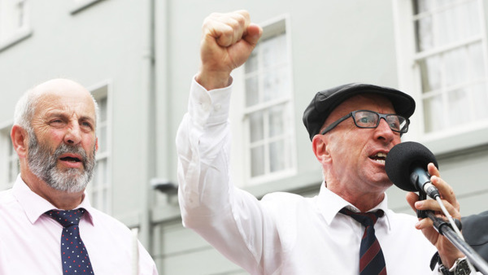 Image - Danny Healy-Rae and his brother Michael (Credit Rollingnews.ie)