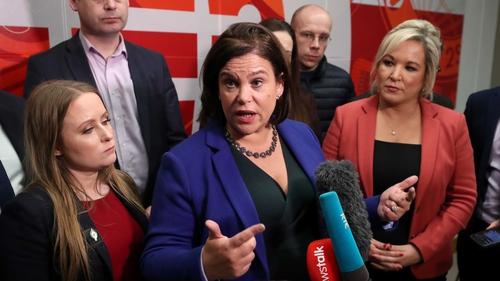 Sinn Féin has the highest number of female TDs in the Dáil