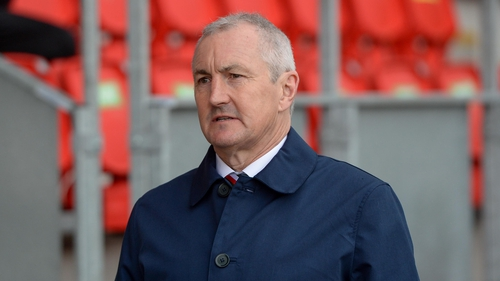 """John Caulfield: """"We have to decide, can we have 20 (professional) League of Ireland clubs? No we can't."""""""