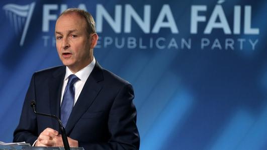Fianna Fáil leader Micheál Martin on government formation