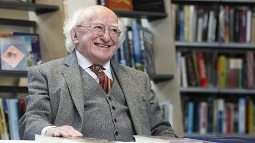 President Higgins said school was 'not just a building containing a series of classrooms where lessons are held, tests are sat and homework is corrected'