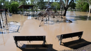 Flooding in Dalby in the state of Queensland