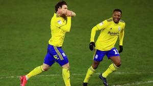 Birmingham City's Scott Hogan celebrates
