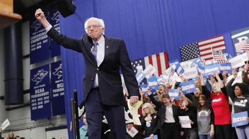 Bernie Sanders secured 26% of the vote in New Hampshire