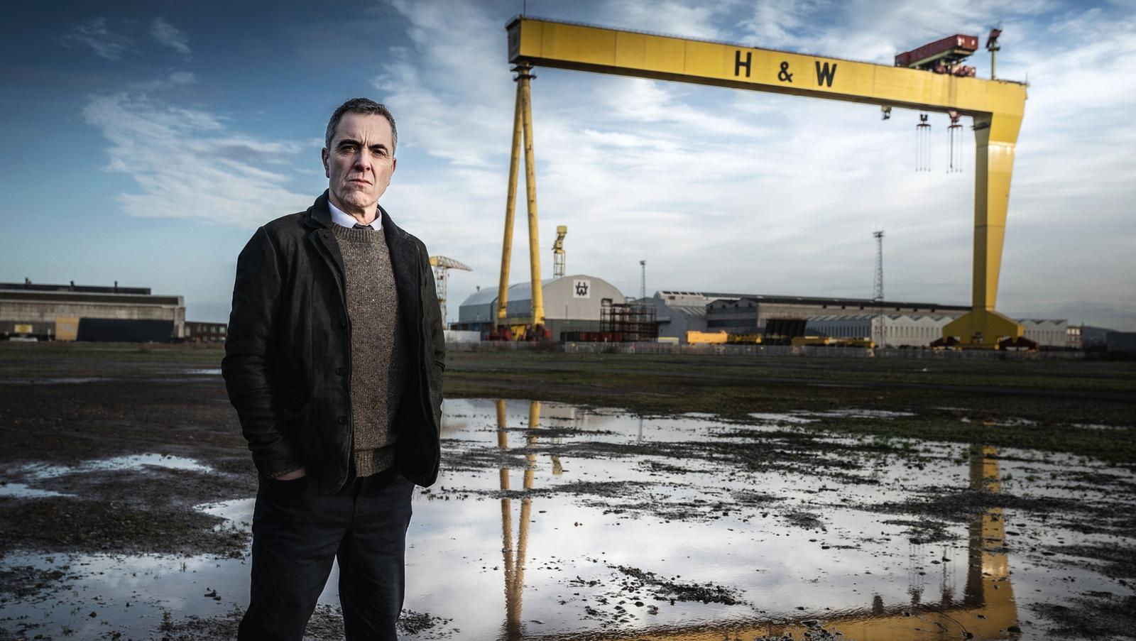 Irish stars join Nesbitt in BBC's Belfast thriller