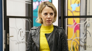 Sally Carman as Abi Franklin in Coronation Street