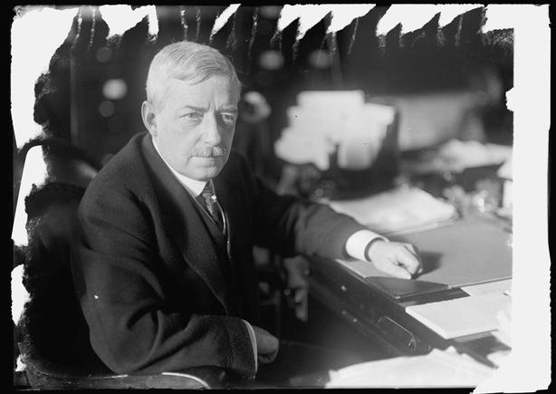 Robert Lansing. Photo taken between 1906 and 1919 Photo: Library of Congress Prints and Photographs Division Washington, D.C. 20540 USA