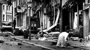 The aftermath of an IRA car bomb in Bangor, Co Down in October 1992. Photo: EPA/AFP via Getty Images