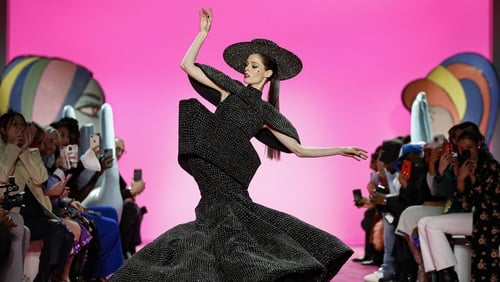 Coco Rocha stole the show at NYFW.