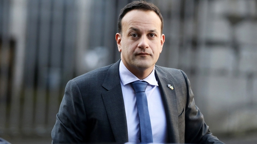 Leo Varadkar at the European Financial Forum in Dublin Castle (Pic: Rollingnews.ie)