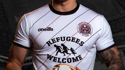 Bohemians and Amnesty join forces to release jersey