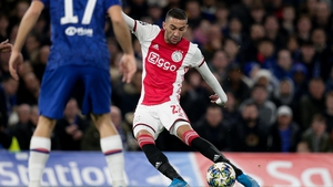 Ziyech and Ajax faced Chelsea in this season's Champions League group stages