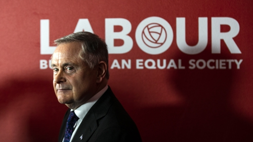 Brendan Howlin was Labour's third leader in the last six years