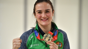 Kellie Harrington was a world championship winner in 2018