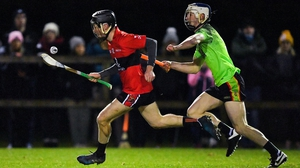 Shane Conway (L) scored 0-09 for UCC