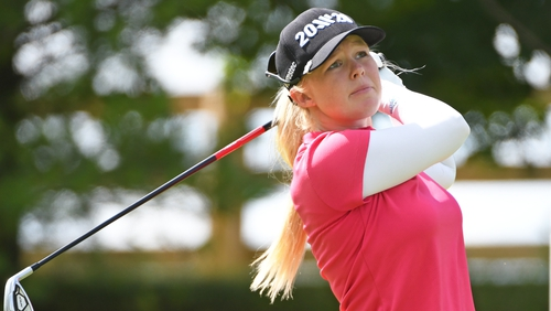 Stephanie Meadow's opening round 70 leaves her in a tie for 19th