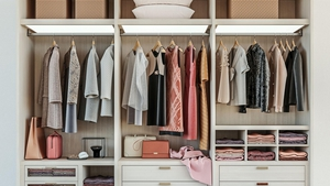 Fed up with that messy, overflowing wardrobe? Sam Wylie-Harris reveals how to restore order with these hanging space hacks.