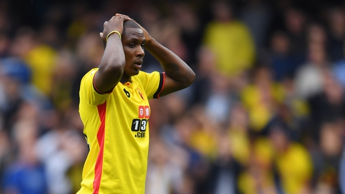 Ighalo needs a month to settle at United, says Sanchez