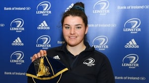 Judy Bobbett during the Leinster Rugby Womens Cap and Jersey Presentation 2019