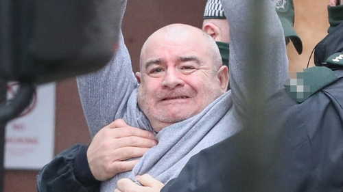Paul McIntyre (seen at an earlier court appearance) is due back in court on 26 March