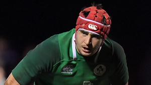 John Hodnett has featured for the Ireland Under-20s