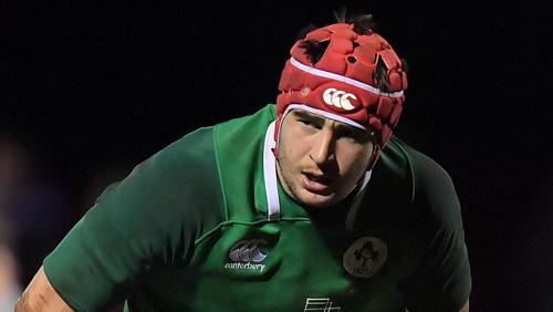 John Hodnett has featured for the Ireland Under-20s