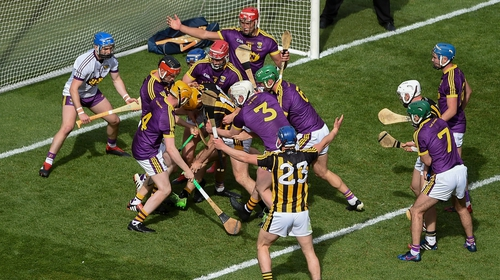 Last year's Leinster final ended in victory for Wexford