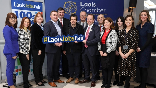 The Laois Jobs Fair was organised by Laois Chamber of Commerce