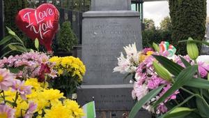 Michael Collins grave at Glasnevin Cemetery