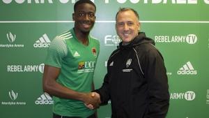 Joseph Olowu joins Cork