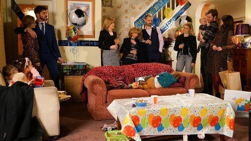 Gail throws a party