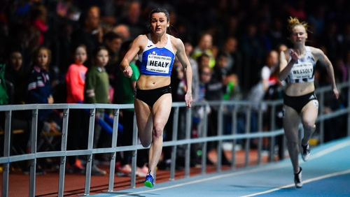 Phil Healy remains on course for Tokyo 2020