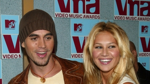 Proud parents - Enrique Iglesias and Anna Kournikova
