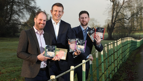 Brendan Conway, Buying Executive for Lidl Ireland; John O'Brien, Managing Director of O'Brien Fine Foods and Henry Howard, Senior Buyer for Lidl Ireland