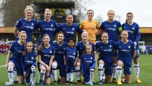 Chelsea are currently second in the Women's Super League