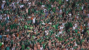 Republic of Ireland fans were out in force at Euro 2016