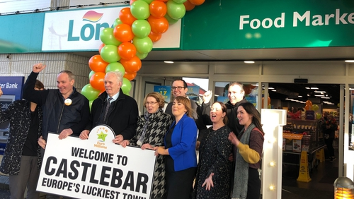 The winning ticket was sold at Mulroy's Londis