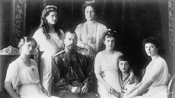 Tsar Nicholas II of Russia and his family in the 1910s. (Image by Fine Art Images/Heritage Images/Getty Images)