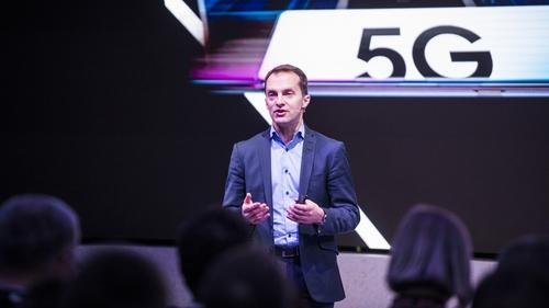 Conor Pierce, Samsung's Corporate Vice-President, UK and Ireland