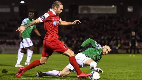 Karl Sheppard is back in Dublin following a very successful spell with Cork City