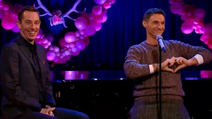 Love was all around Marti Pellow on The Late Late Show