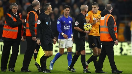 Wolves 0-0 Leicester City: VAR rules out Boly header in stalemate