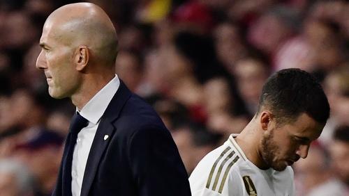 Madrid coach Zinedine Zidane should be able to call on the services of Eden Hazard against Celta Vigo.