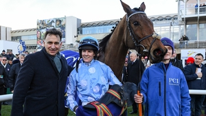 Henry de Bromhead and Rachael Blackmore landed the only Grade Two on the card at Gowran Park