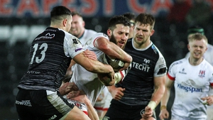 Ulster fell short despite a late surge in Liberty Stadium