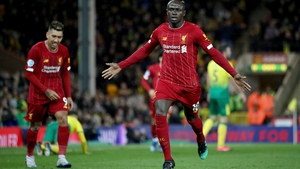 Sadio Mané came off the bench to break Norwich's resistance at Carrow Road.
