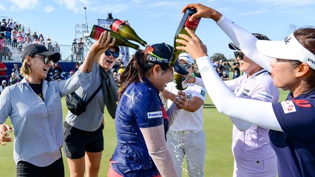 Inbee Park achieves victory by three shots in the Women's Australian Open