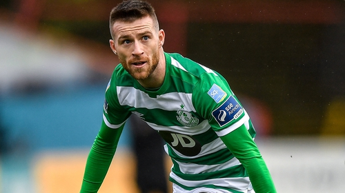 Jack Byrne in action at Dalymount Park