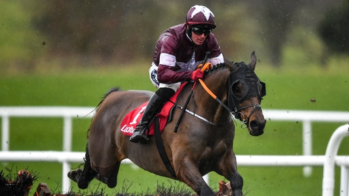 Tiger Roll travelled well on his seasonal appearance but understandably faded late on